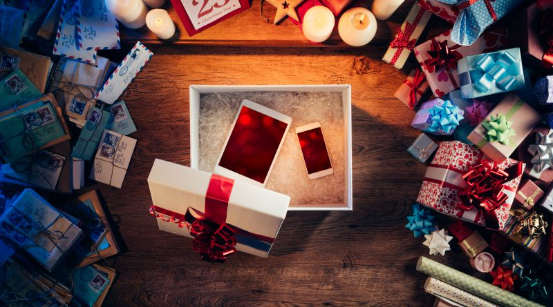 Gadgets as Christmas gift